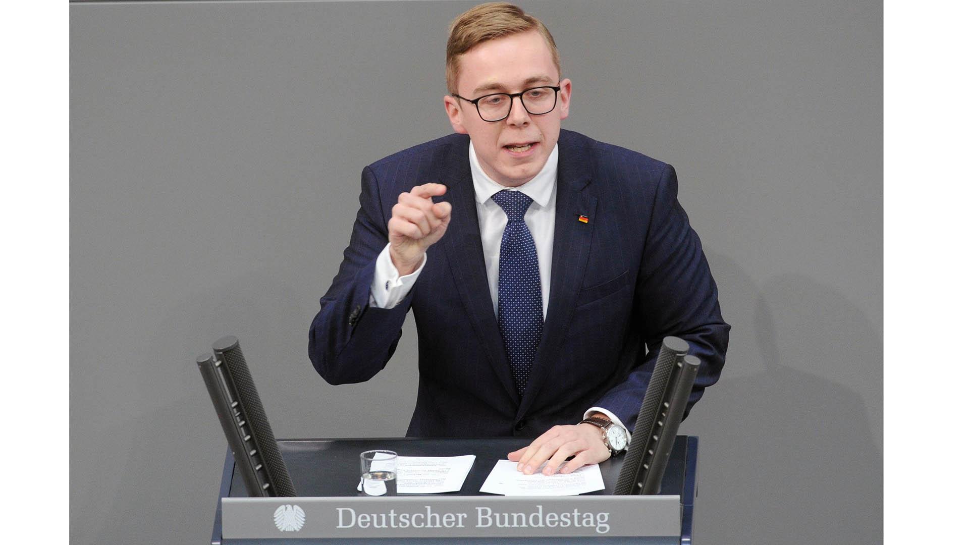 """""""Der christliche Glaube gehört in besonderer Weise zu Deutschland"""", sagt Philipp Amthor"""