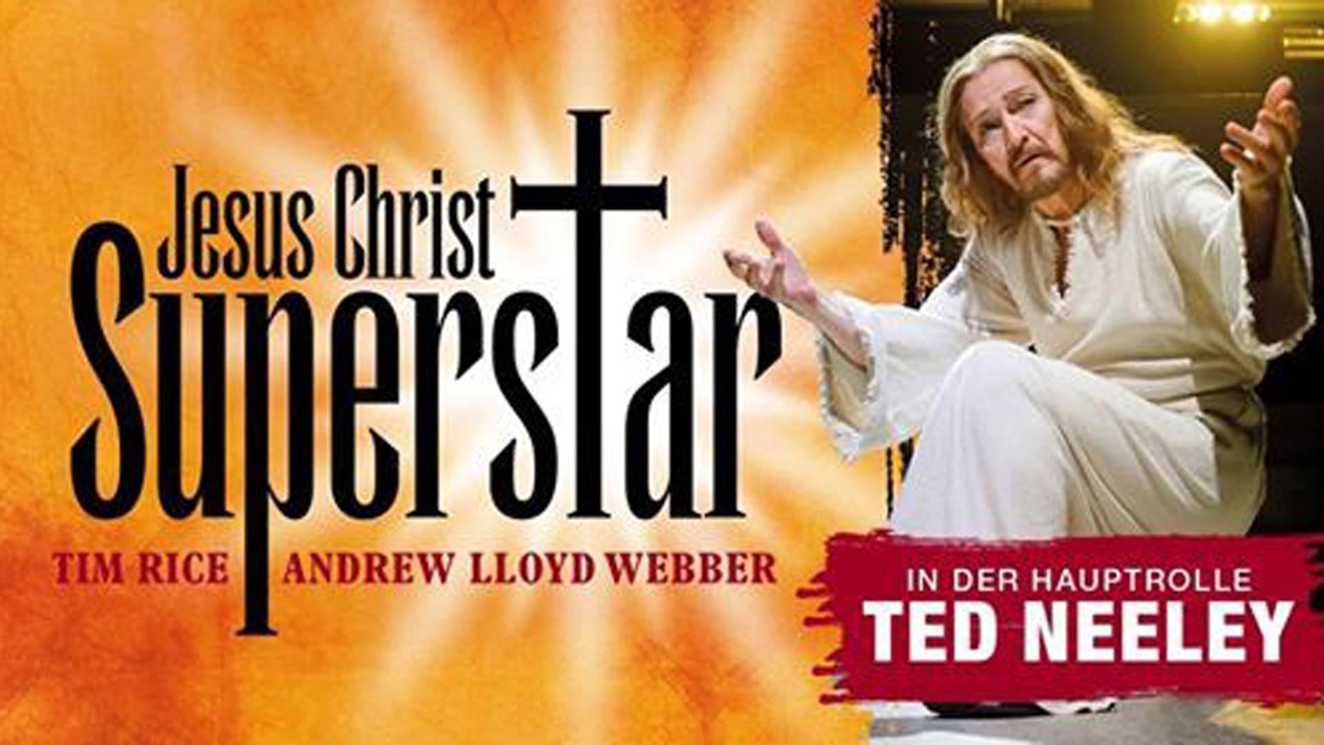 """Rolle als eine Art Lebensaufgabe: Der 29-jährige Ted Neeley spielte die Hauptrolle bei der Uraufführung des Musicals """"Jesus Christ Superstar"""" 1971 am Broadway in New York. Den Jesus spielt er bis heute auf der Bühne."""