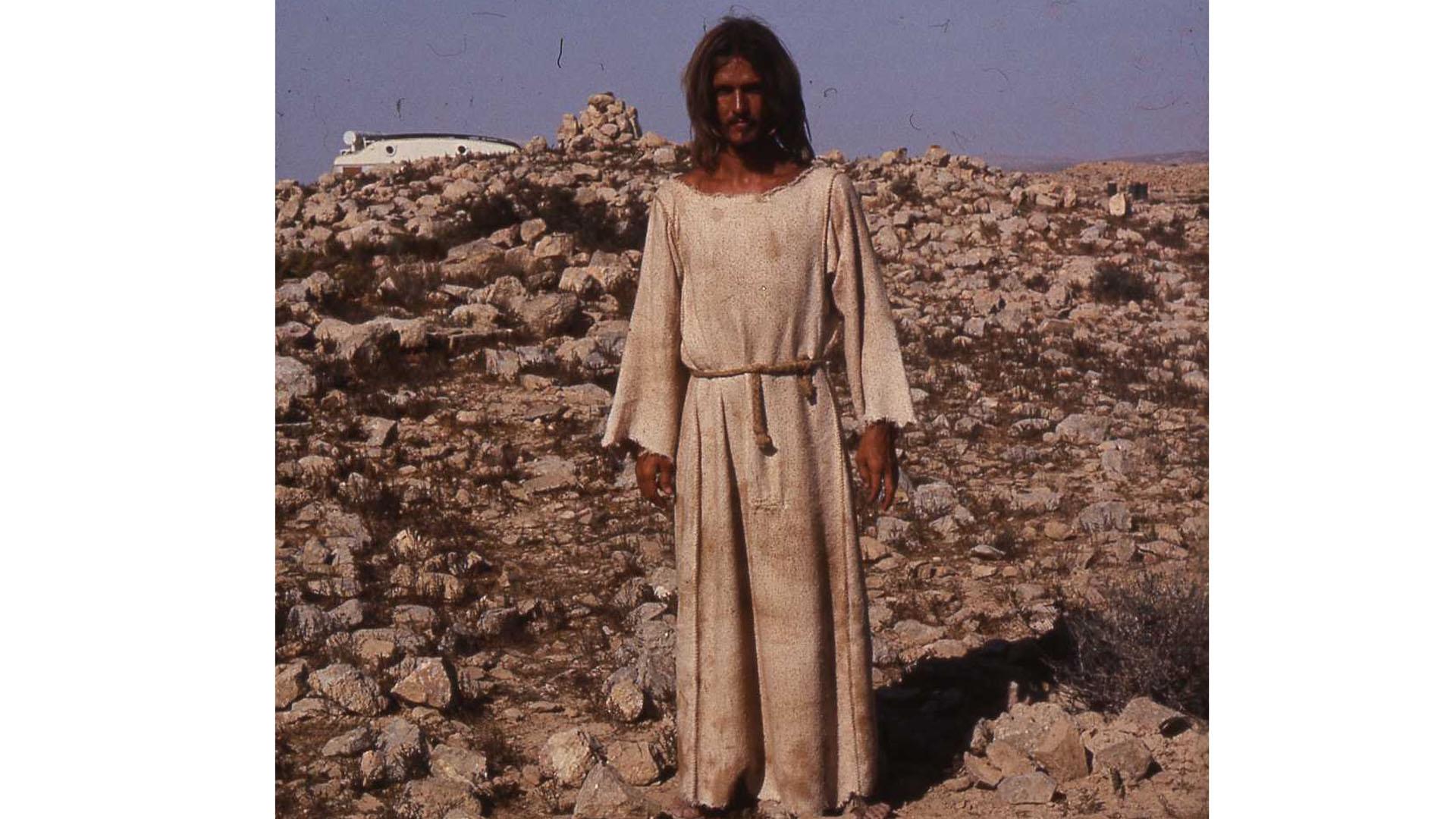 Ted Neeley 1972 in der Negev-Wüste