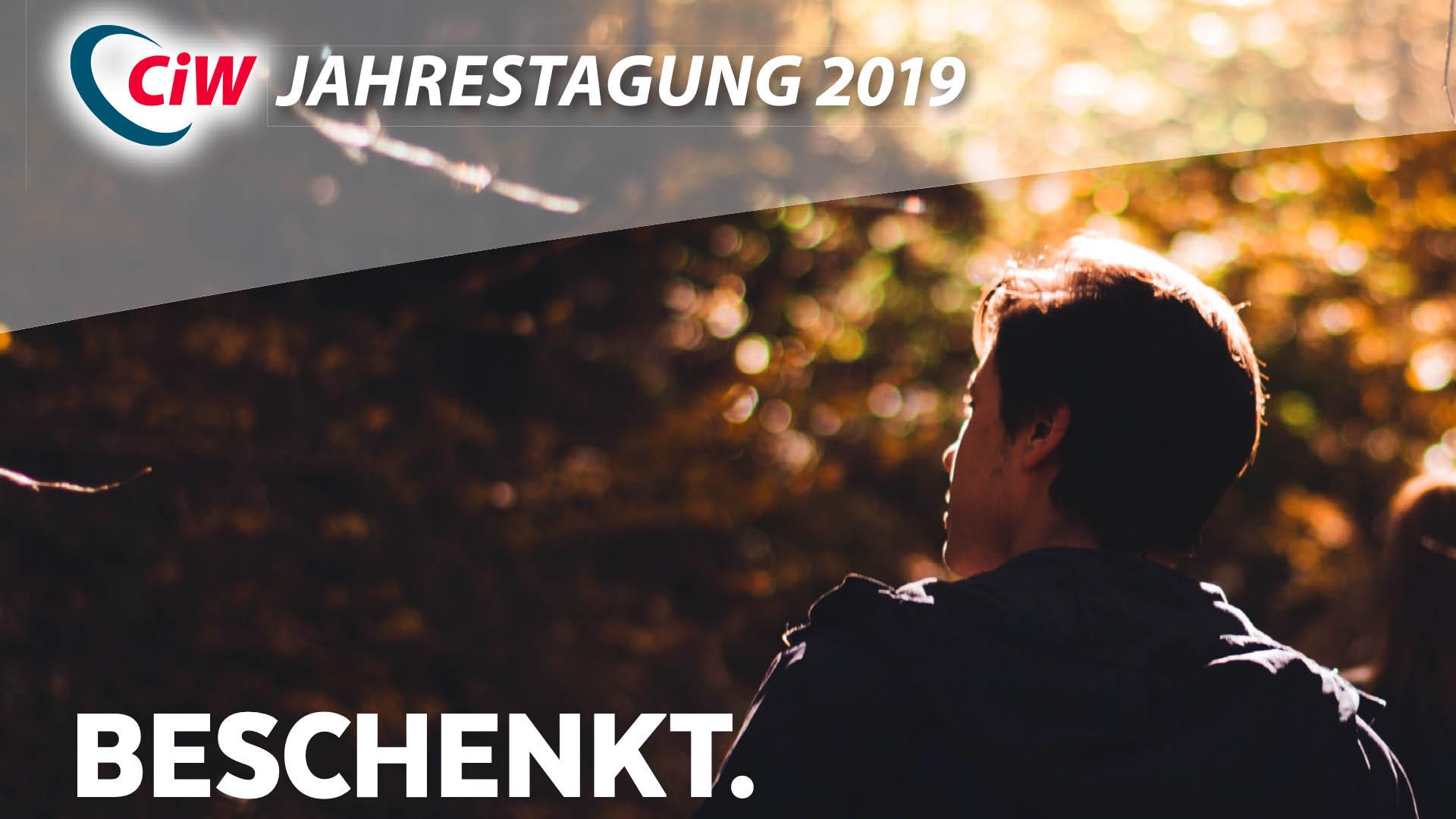 """Vom 18. bis zum 20. Oktober 2019 findet in Altenkirchen die Jahrestagung des Vereins """"Christen in der Wirtschaft"""" statt"""