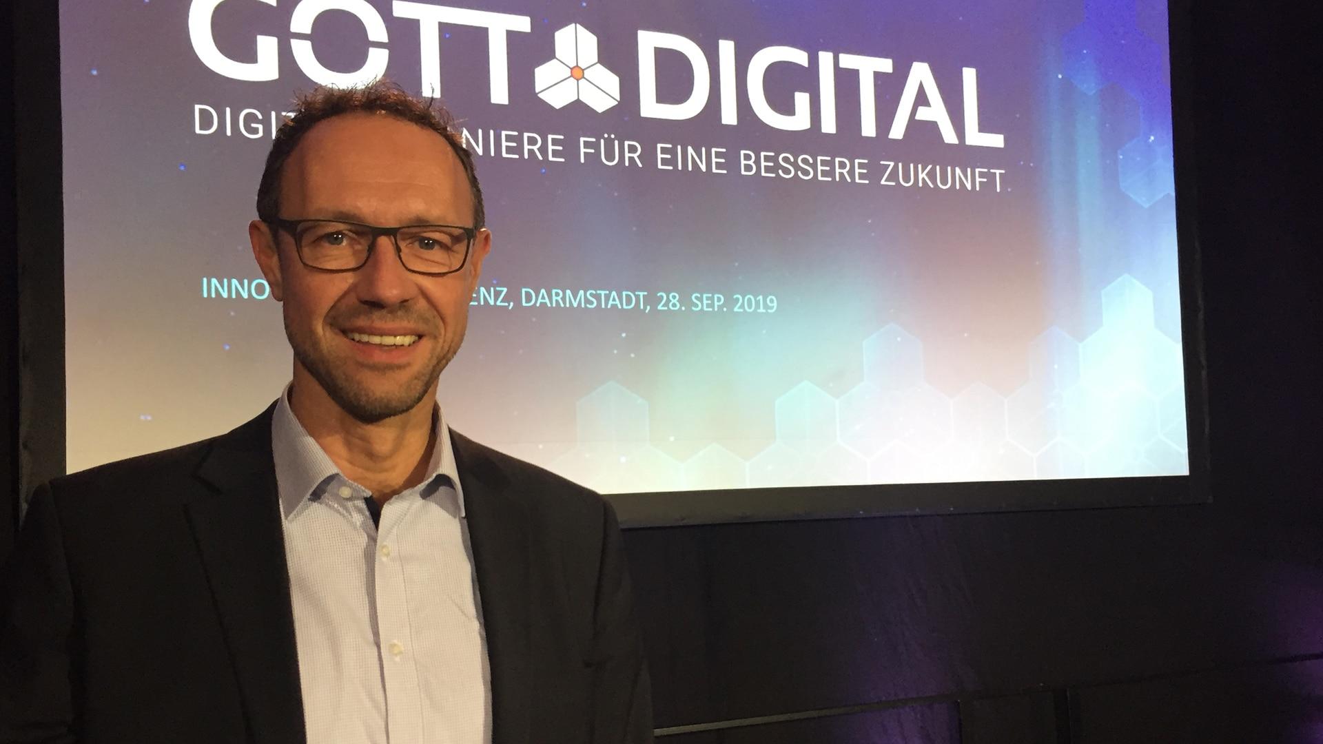 Digitalisierung ist nach Ansicht von Joachim Stängle mehr als nur Technik