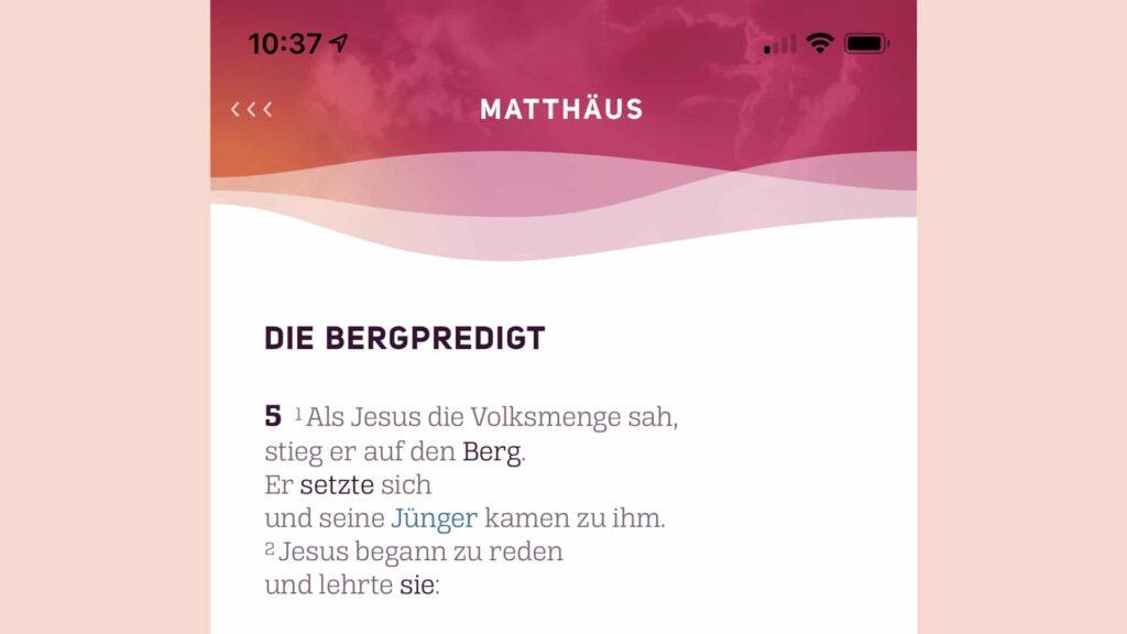 Die KonApp der Deutschen Bibelgesellschaft soll Konfirmanden biblische Inhalte näherbringen