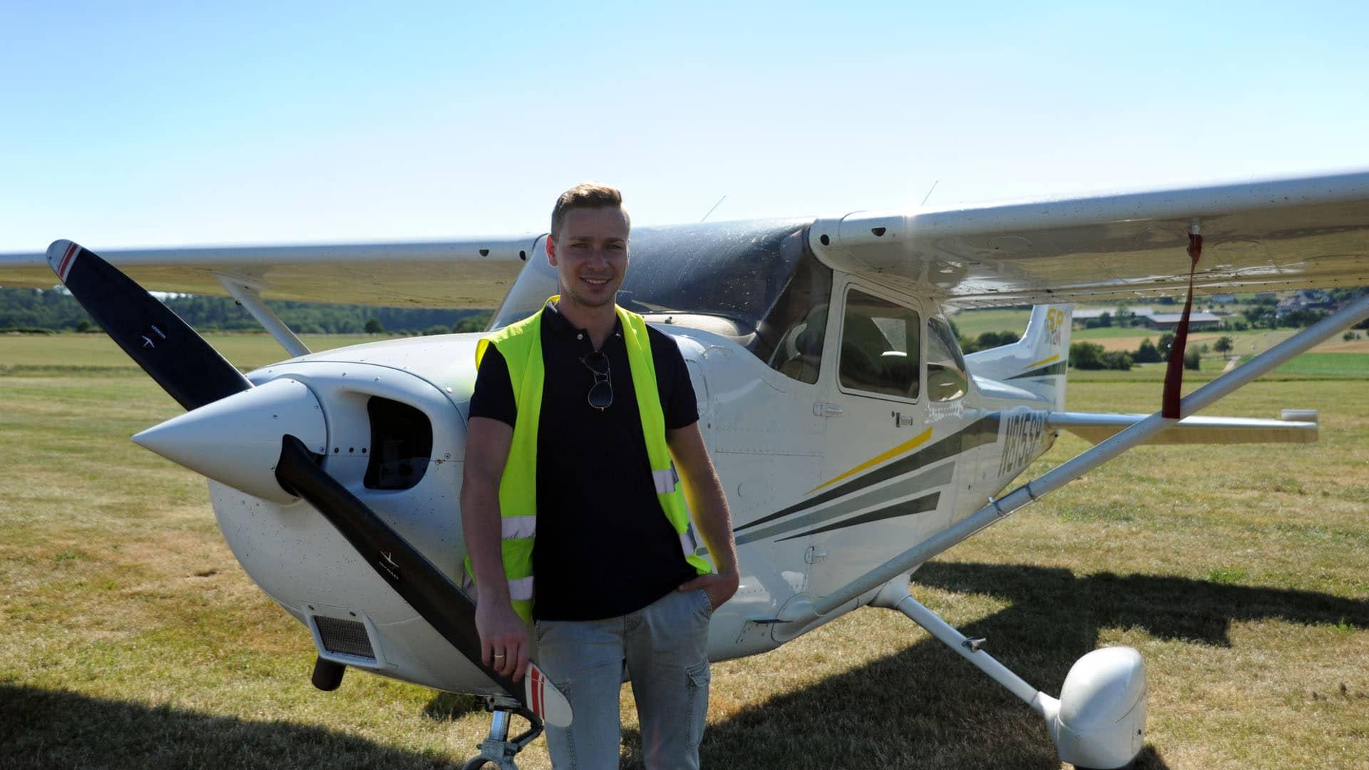 Der 25-jährige Jan Klassen wird im kommenden Jahr als Buschpilot für MAF ausreisen