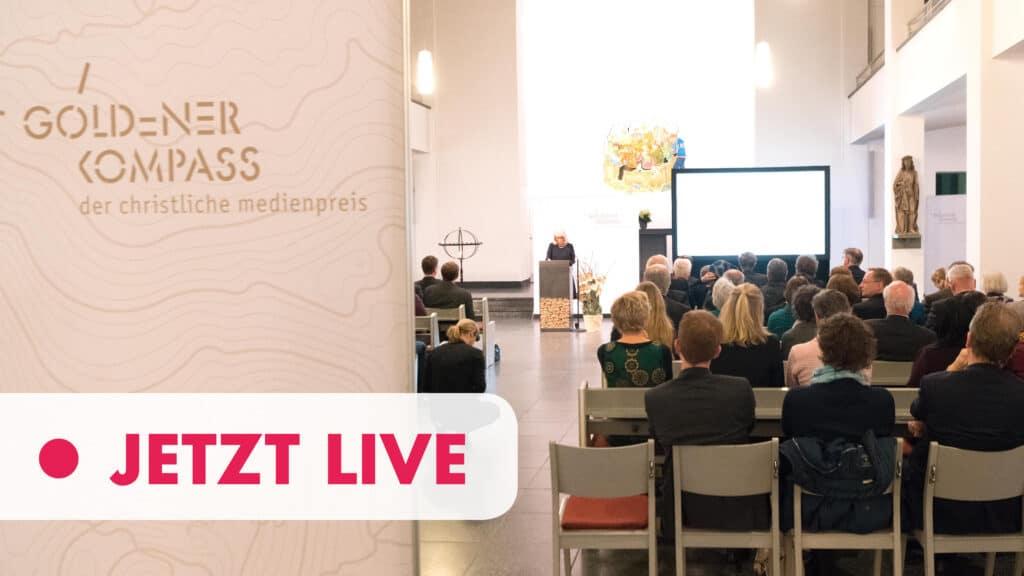 """Die Christliche Medieninitiative pro verleiht den """"Goldenen Kompass"""" in der St.-Matthäuskirche Berlin"""