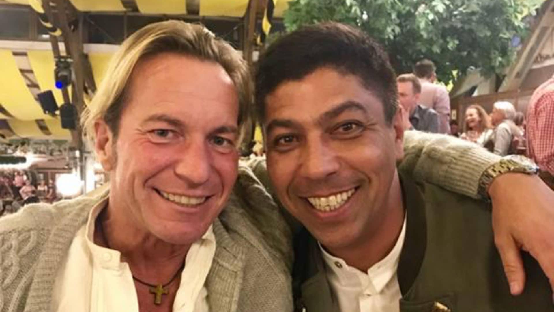 Gemeinsam mit Giovanne Elber spielte Michael Sternkopf beim FC Bayern München