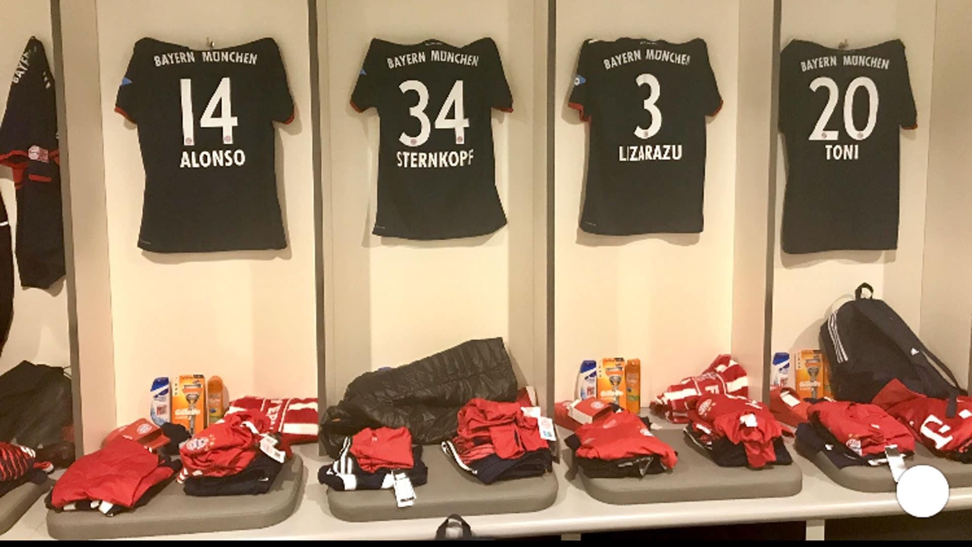 Heute noch läuft Michael Sternkopf mit alten Größen für die Bayern München-Traditionself auf