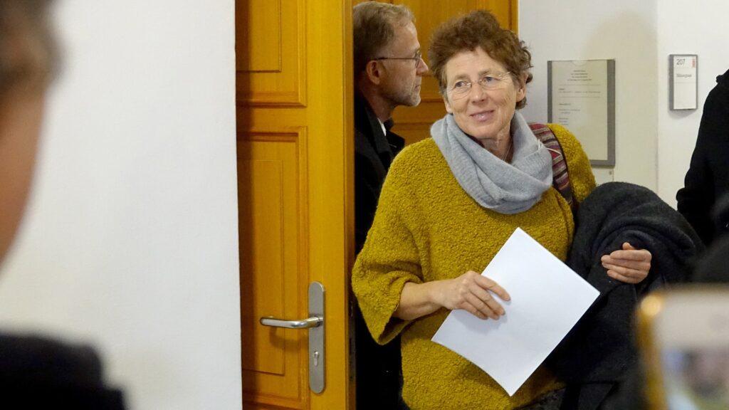 Verloren und doch gewonnen: Kristina Hänel nach der Urteilsverkündung