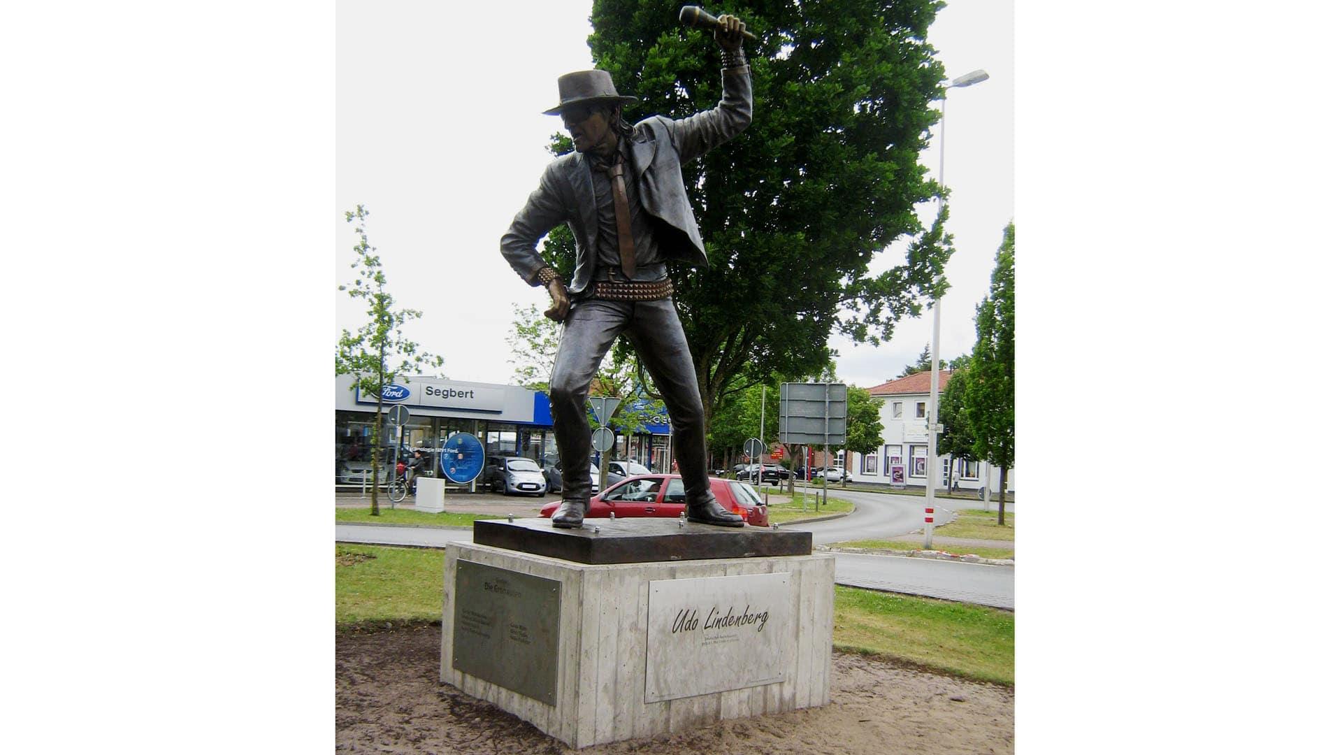 Sie haben ihm ein Denkmal gebaut: Lindenberg-Ehrenmal in Gronau/Westfalen