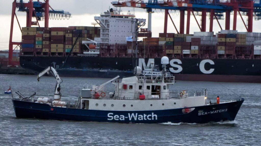 Das geplante Rettungsschiff soll von der Organisation Sea-Watch eingesetzt werden