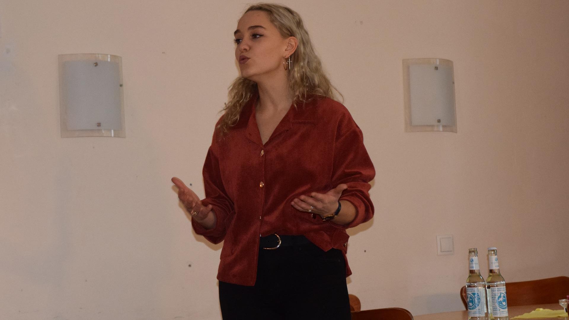 """Jana Highholder erzählte auf der """"Social Media Night"""" von ihren Erfahrungen mit öffentlicher Kritik"""