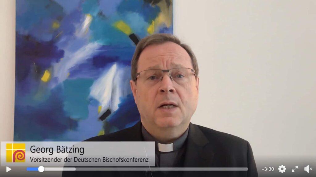 Der Vorsitzende der Deutschen Bischofskonferenz Georg Bätzing