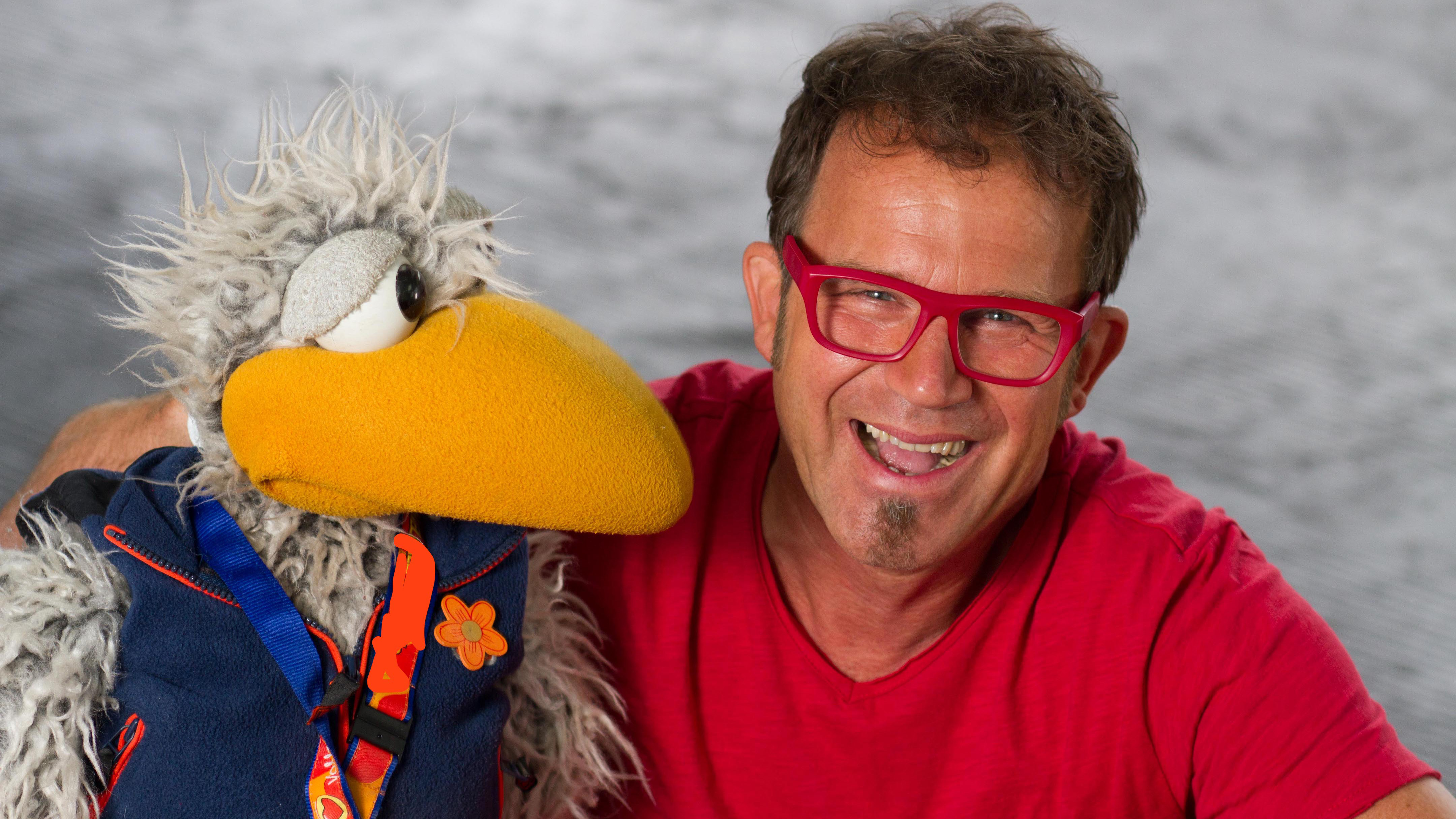 Daniel Kallauch, Kindermusiker, Puppenspieler und Unterhaltungskünstler