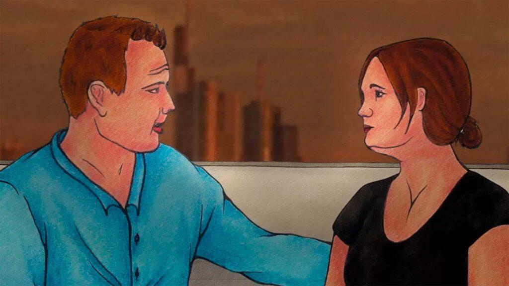 """In dem 42-minütigen Animationsfilm """"Sternenstaub und Seelenvogel"""" werden teifgreifende Fragen nach dem Sein des Menschen und nach Gott behandelt"""