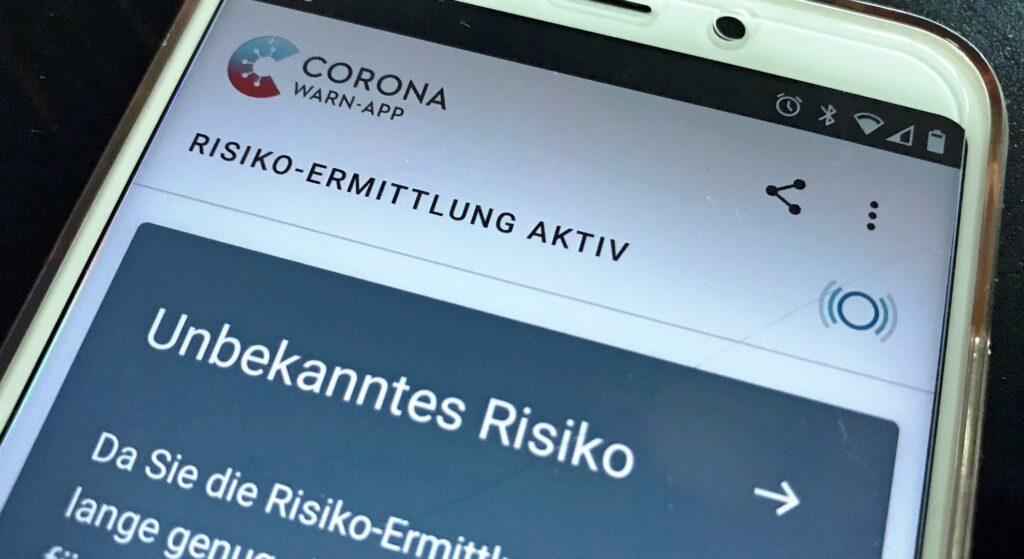 Die deutsche Corona-Warn-App ist seit dem 16. Juni verfügbar