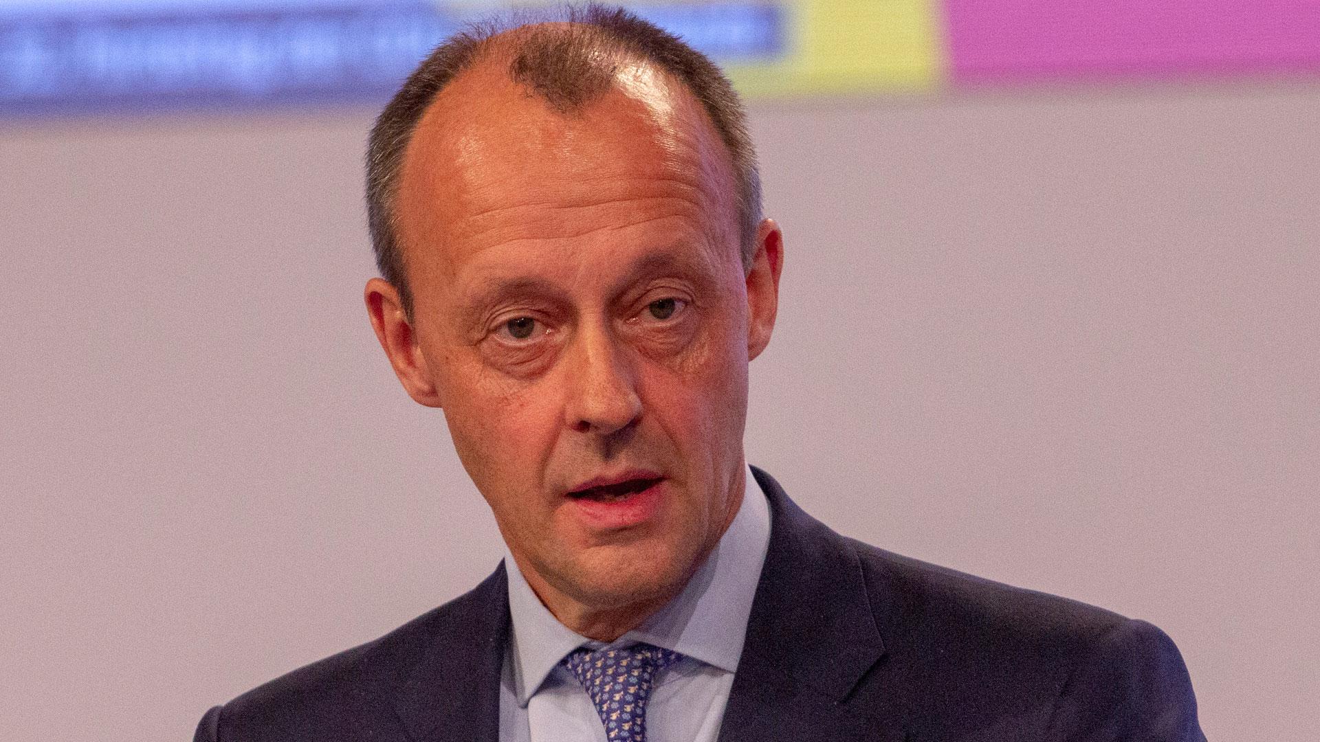 Für CDU-Politiker Friedrich Merz ist die Seenotrettung ganz klar eine staatliche Aufgabe