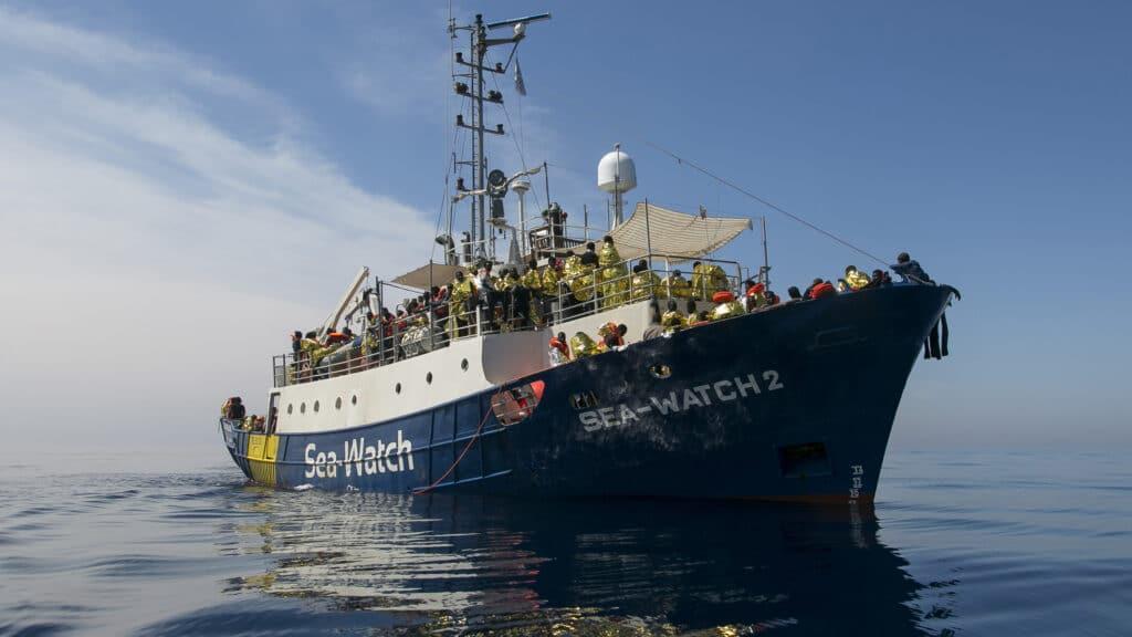 Das Schwesternschiff diese Bootes ist am Samstag in den Einsatz gestartet – die Sea-Watch 4