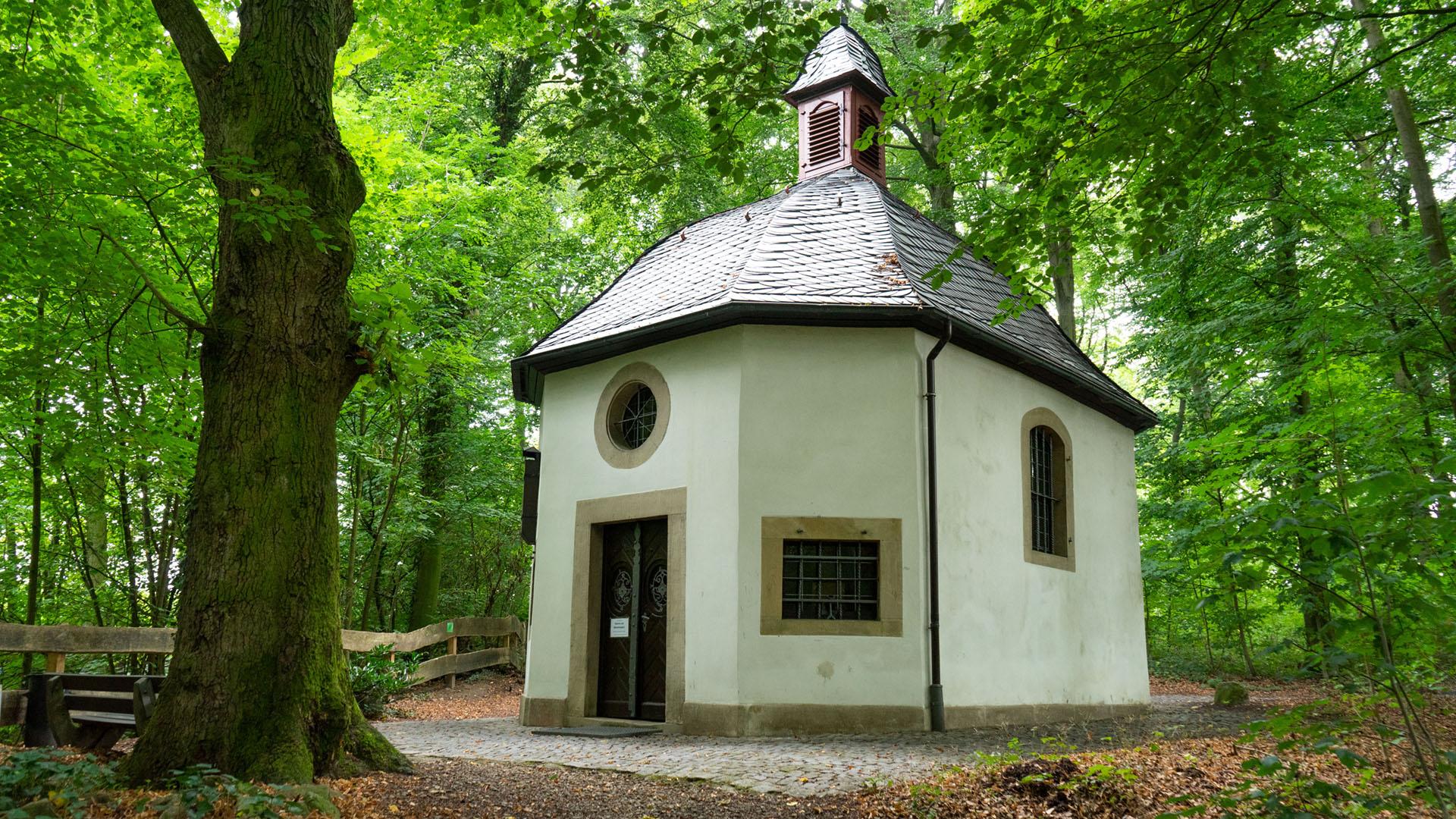 Die Waldkapelle von Darup liegt zwischen Coesfeld und Münster