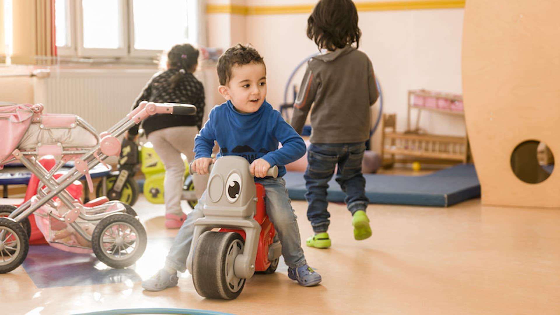 Für die Kinder ist die Arche in den verschiedenen Städten eine enorm wichtige Anlaufstätte
