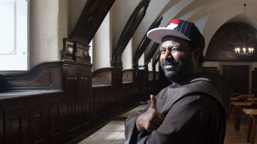 Sandesh Manuel kommt aus der indischen Metropole Bangalore. Seit sieben Jahren lebt er in Wien.