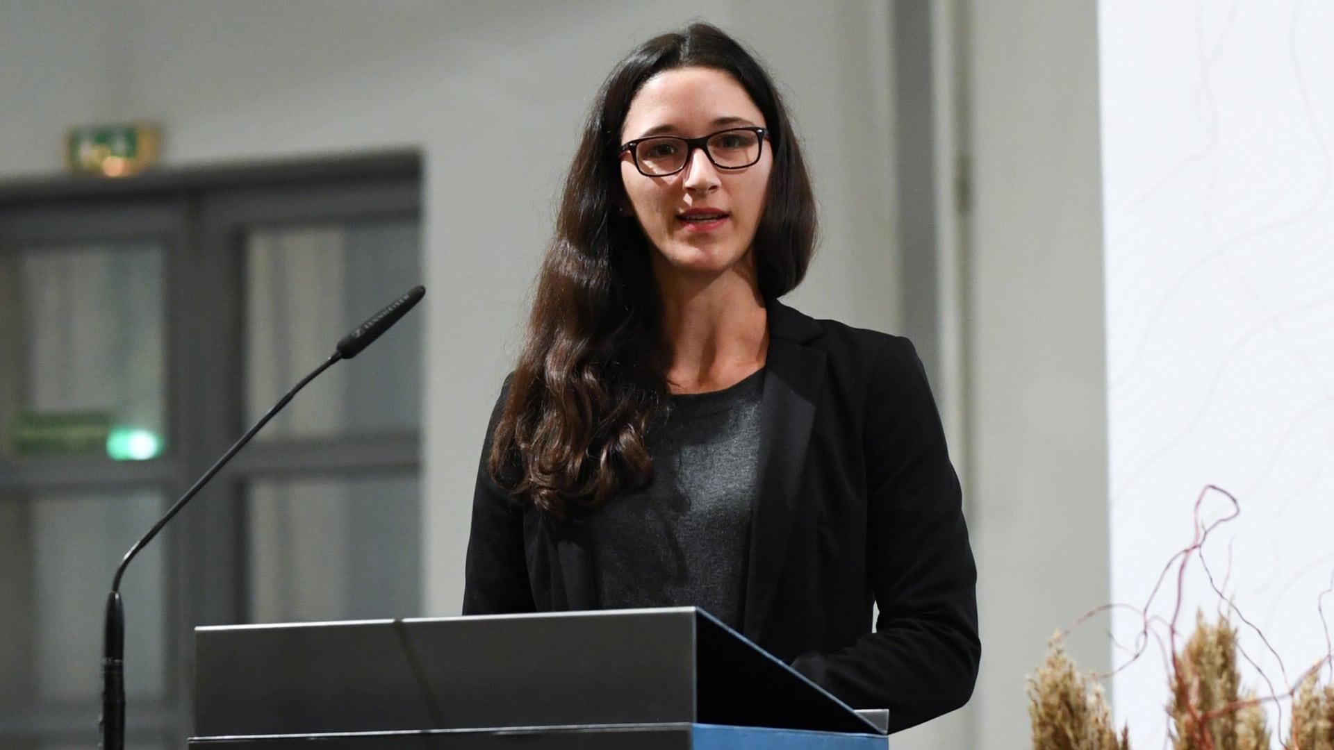 Volontärin beim Tagesspiegel und dieses Jahr Referentin bei der Nachwuchsjournalisten-Tagung: Selina Bettendorf (Archivbild)