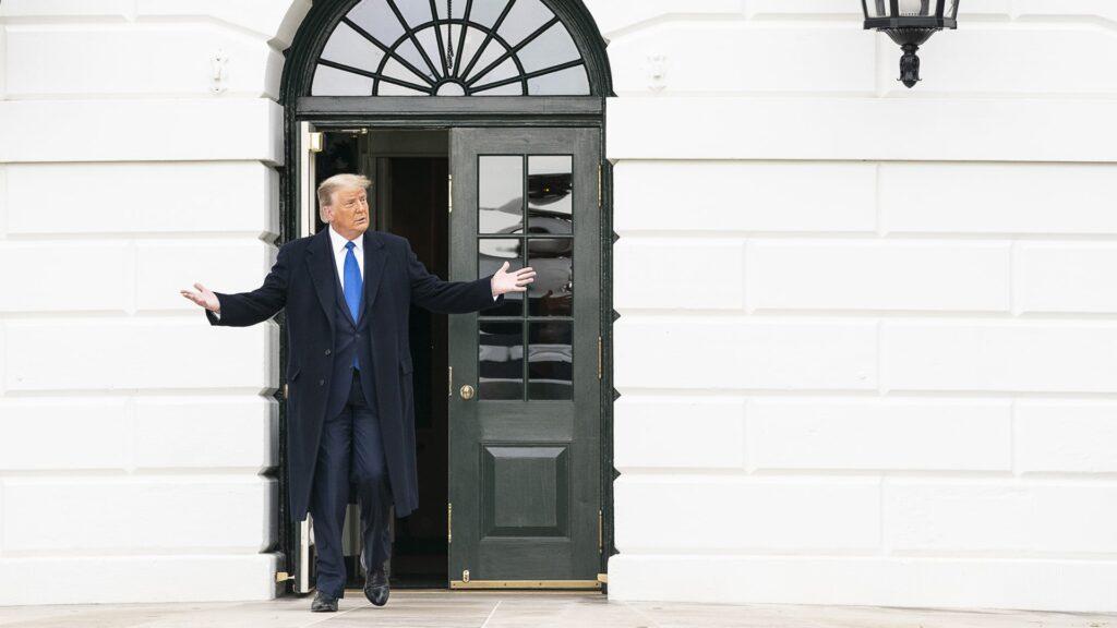 Hat Sendepause: Donald Trump