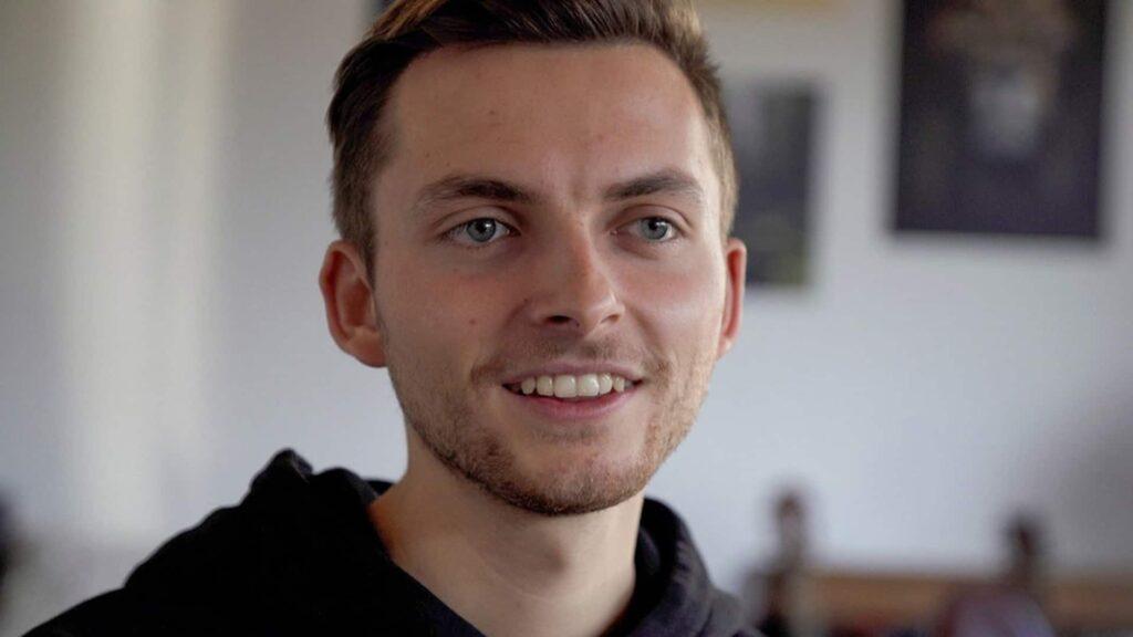 Der YouTuber Philipp Mickenbecker