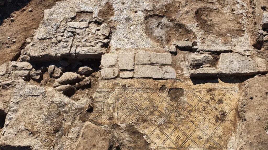 Das Bild zeigt die gefundene Inschrift