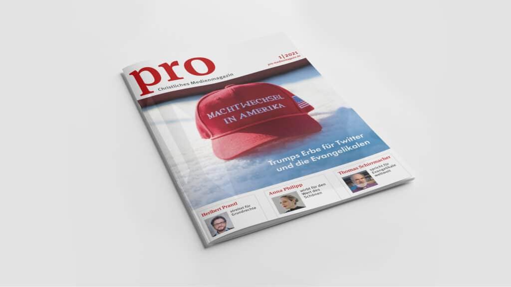 In der neuen Ausgabe des Christlichen Medienmagazins pro geht es um den Machtwechsel in den USA