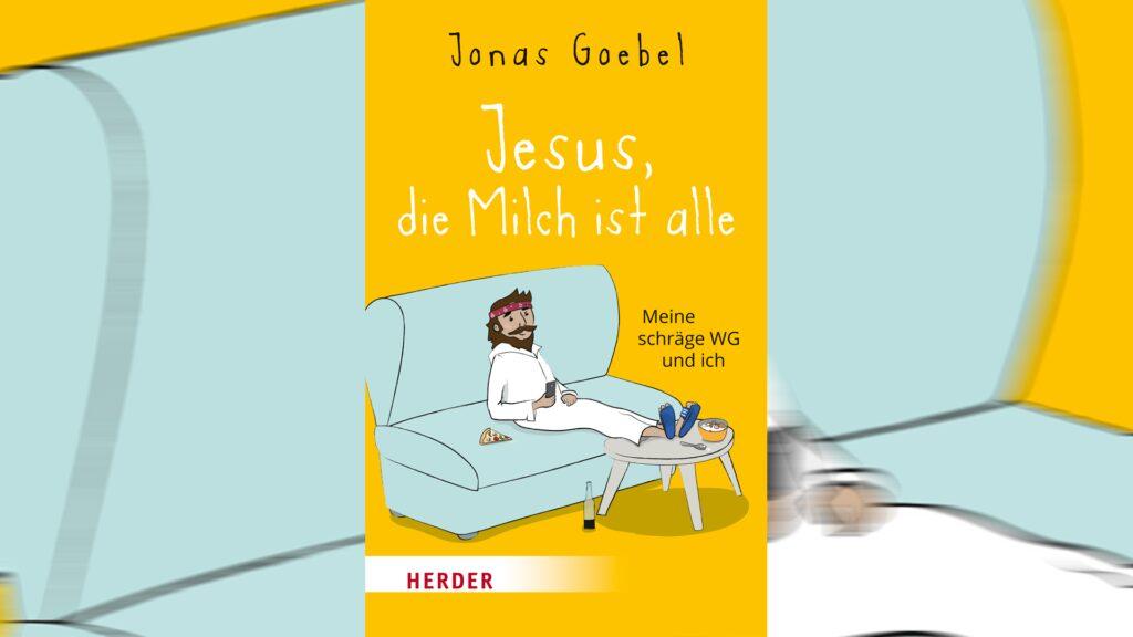 """Im Buch """"Jesus, die Milch ist alle"""" wirbelt Jesus und Martin Luther die Welt von Pastor Jonas durcheinander"""