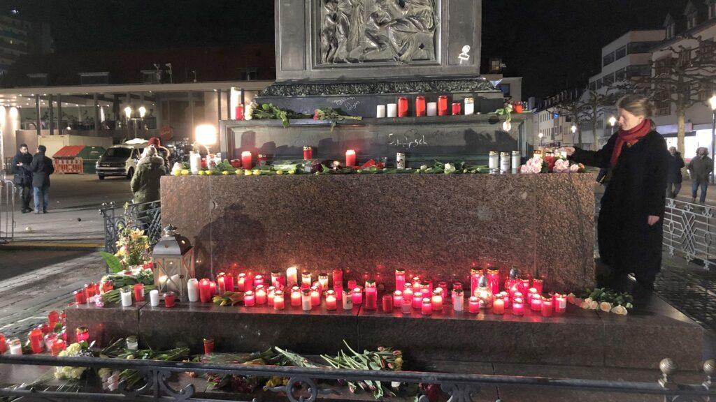 Gedenken in Hanau am 20. Februar 2020