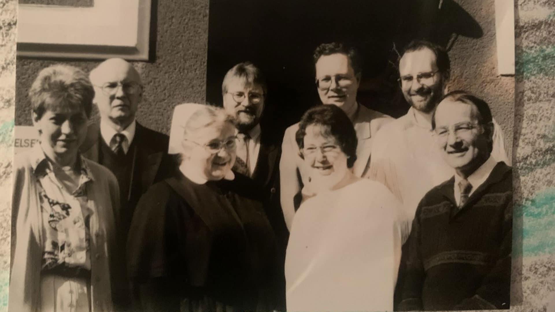 Das Dozenten-Team vor über 20 Jahren