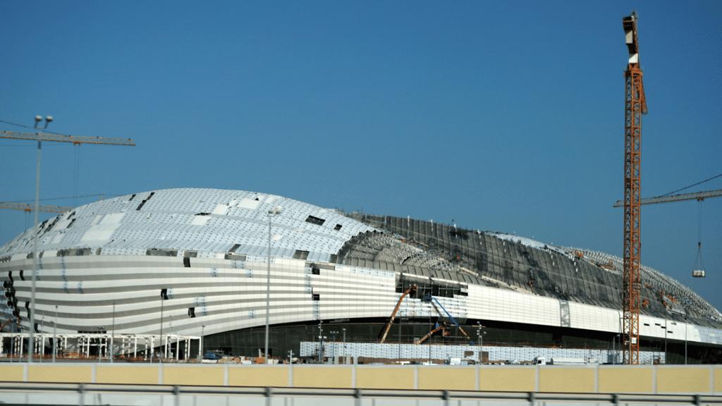 Al Wakrah Stadium in Doha