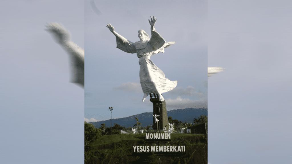 Der segnende Christus von Manado