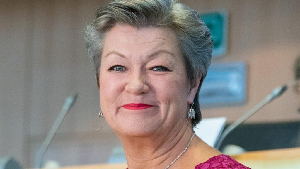 Ylva Johansson ist EU-Kommissarin für Inneres