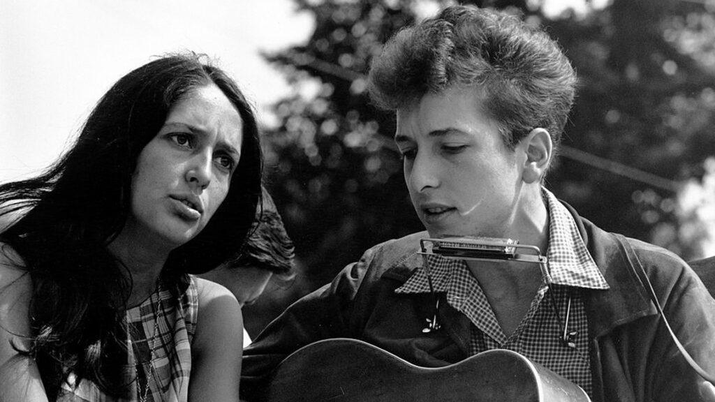 Bob Dylan, Joan Baez