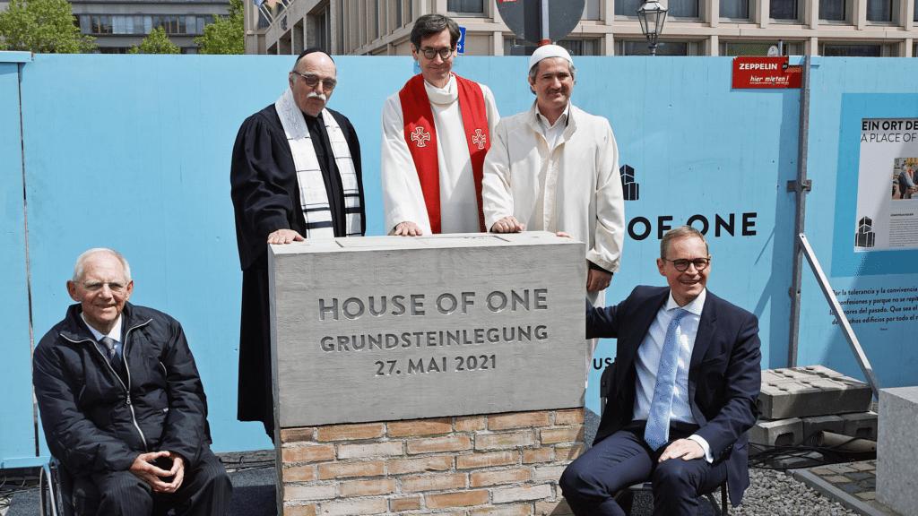 House of One Grundsteinlegung