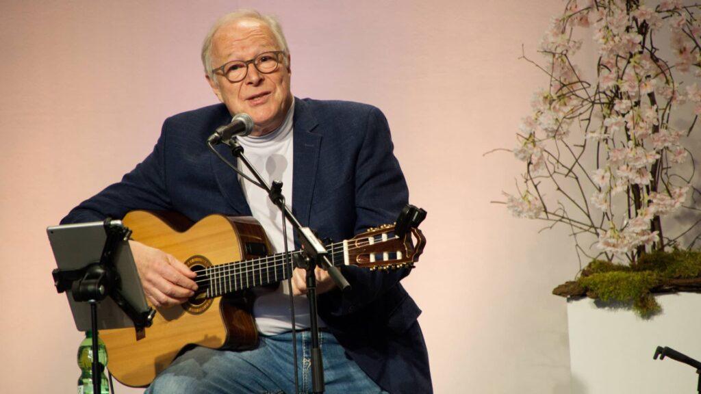 Jürgen Werth bei einem seiner zahlreichen Auftritte