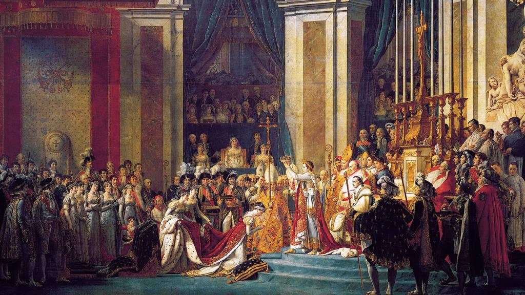 Kaiserkrönung Napoleon