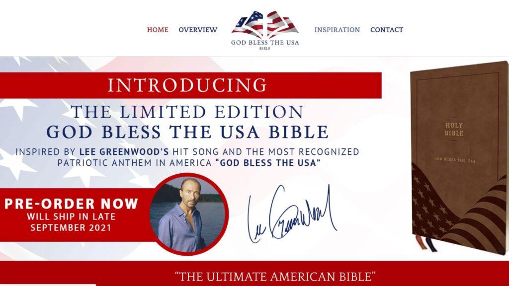 Good bless the USA-Bibel