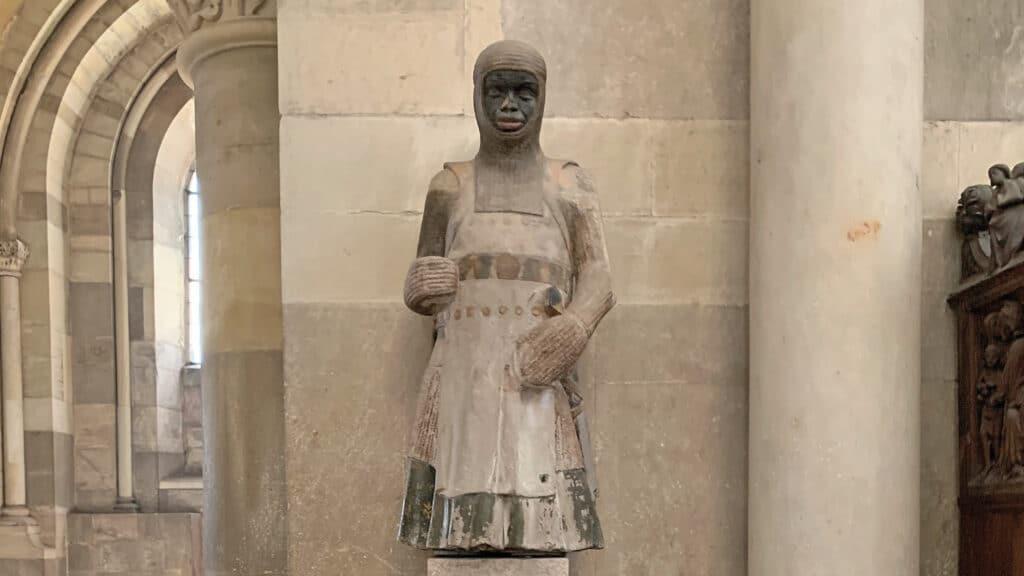 Sandsteinskulptur, mauritius, Dom Magedeburg, Märtyrer, Mohr