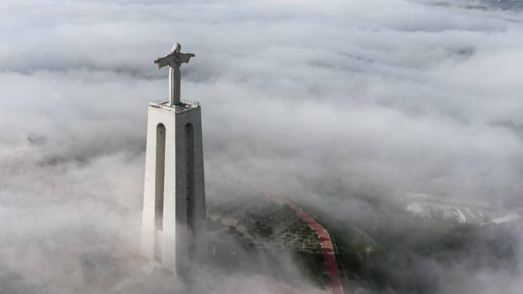 Statue, Christus, Lissabon
