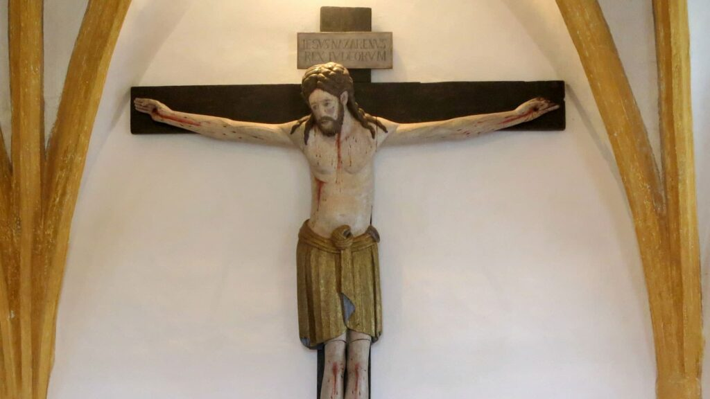 Gekreuzigter Jesus