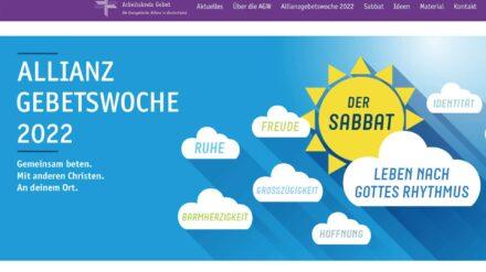 Allianzgebetswoche 2022