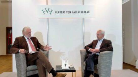 Herbert von Halem im Gespräch mit Hans-Matthias Kepplinger