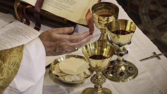 Abendahl, EUcharistie, Kommunion, Hostie, Wein