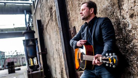 Arne Kopfermann will mit Musik ein Zeichen der Hoffnung setzen