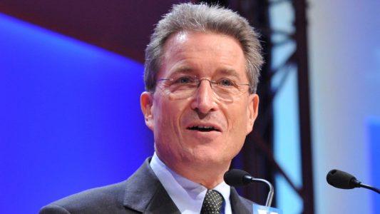 Der Theologe Wolfgang Huber