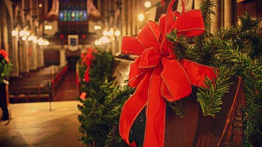 Zu Weihnachten konnten weniger Menschen als sonst in die Kirche gehen – dafür schauten umso mehr Gottesdienste im Fernsehen an