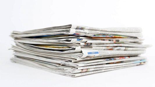 Zeitunge, Medien, Print, gedruckt, Presse