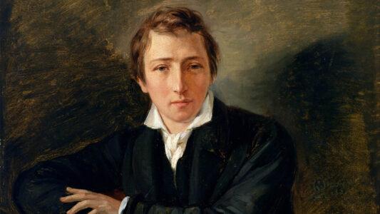 Heinrich Heine ist einer der Autoren, bei denen der christliche Glaube eine immer wichtigere Rolle spielt